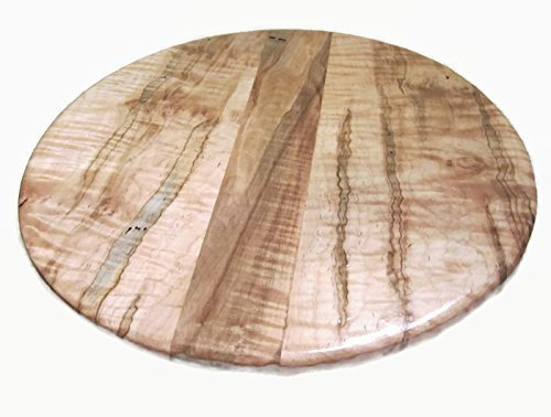 Ambrosia Maple Wood Lazy Susan Turntable 16'' by Specialty Wood Designs