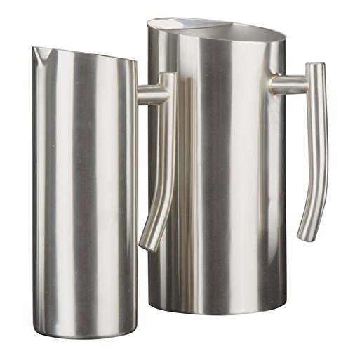 American Metalcraft WPSF67 Stainless Steel Pitcher with Ice Guard, ()