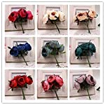 Rose-tea-buds-Silk-Big-Artificial-Flowers-Bride-Bouquet-DIY-Festival-Home-Decor-Wedding-Party-Flores-Home-Hats-Decoration-Marriage-Wreath-Plants-30pcs-Dark-red