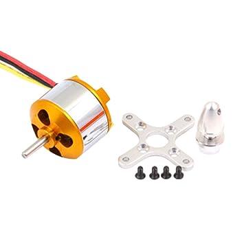 TwoCC Accesorios Rc Drone,2814 1000/1400Kv Motor Sin Escobillas ...