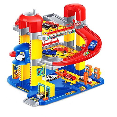 Livebest Safety Quality Plastic 3 Level Toy Parking for sale  Delivered anywhere in USA