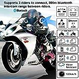 Motorcycle Helmet Bluetooth Intercom Kit, Motorbike