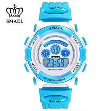 SMAEL serie Cool niños deportes relojes niños Casual analógico Digital wtistwatches 50 M impermeable reloj buen regalo de cumpleaños para niños ws0704, ...