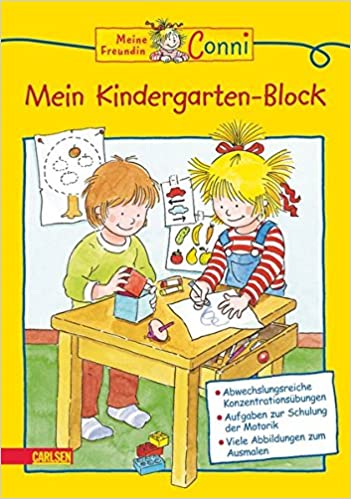 Mein Kindergarten Block Conni Gelbe Reihe Amazon De Hanna