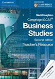 Cambridge IGCSE Business Studies Teacher's Resource CD-ROM, Medi Houghton, 0521122120