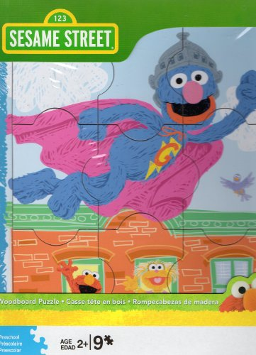 Sesame Street Grover Woodboard Puzzle
