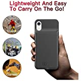 Battery Case for iPhone XR, 6000mAh Portable