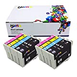 Hi Ink 10PK T069 Remanufactured Ink Cartridges for Epson Stylus NX105, NX110, NX115, NX215, NX305, NX415, NX510, NX515 WorkForce 310, 315, 610, 615 (10 PK)