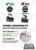 Pwr+ 33W Asus X205 X205T X205TA E205SA E202SA Charger; VivoBook E200HA; Transformer Book Flip TP200SA Charger-Power-Cord Laptop Netbook Eeebook Asus-Ac-Adapter