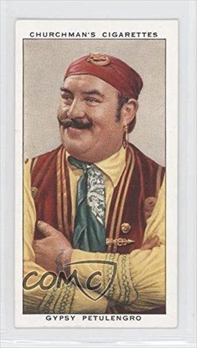 Gypsy Petulengro (Trading Card) 1938 Churchman's In Town To-Night - Tobacco [Base] #33