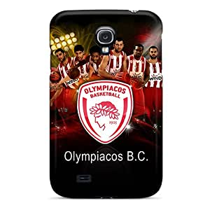 New Diy Design Olympiakos Bc For Galaxy S4 Cases Comfortable For Lovers And Friends For Christmas Gifts