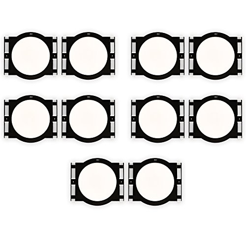 Theater Solutions RK6C In Ceiling Installation Rough In Kit for 6.5'' Speakers 5 Pair Pack by Theater Solutions