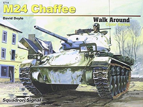 M24 Chaffee - Armor Walk Around Color Series No. 14