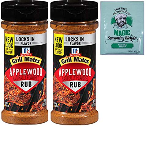 Grill Mates Applewood Dry Smoke Rub. Mccormick Rubs Add Bold Flavor to Meats and Seafood. Convenient One-Stop Shopping For the Best Smoke Flavor Rub. Also: Free Sample of Chef Paul - Rub Apple