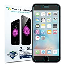 iPhone 6 Screen Protector, Tech Armor Matte Anti-Glare/Anti-Fingerprint Apple iPhone 6S / iPhone 6 (4.7-inch) Film Screen Protector [3-Pack]
