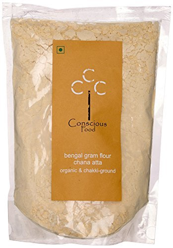Conscious Food Organic Flour, Bengal Gram (Chana Atta)-500g by CONSCIOUS FOOD