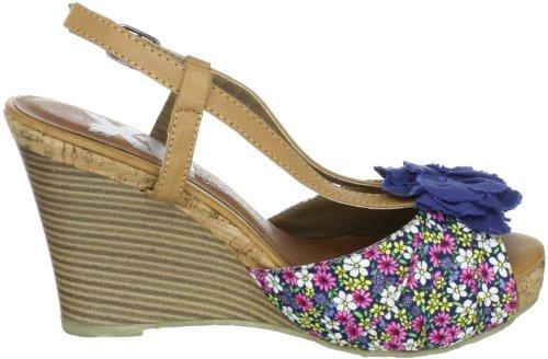 XTI XTI Pumps XTI25209SP12 - Zapatos de vestir de tela para mujer, color azul, talla 41