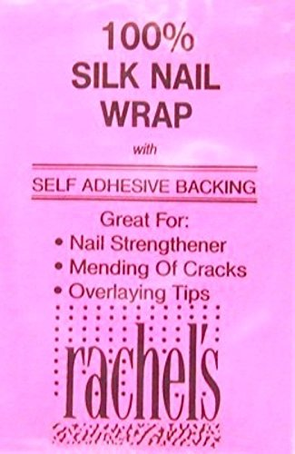 Rachels Adhesive Silk Nail Wrap (6 Pack) by Rachels Nails