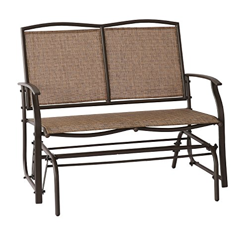 Patio Tree Patio Swing Glider Bench For 2 Person All