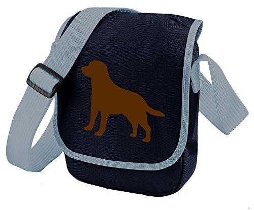 Bag Lab Choice Blue Colours Bag Labrador Retriever Shoulder Gift Bag Silhouette Labrador Bag Dog of Reporter Chocolate Labrador 1PxZTH