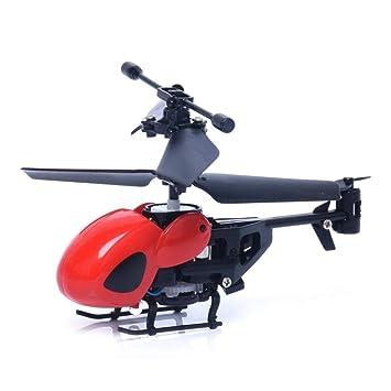 YUHT Avión RC, Mini Transmisor de Helicóptero RC Semi-Micro Drone ...