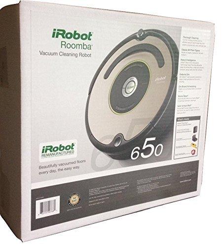 irobot roomba 650 robotic vacuum (refurbished)