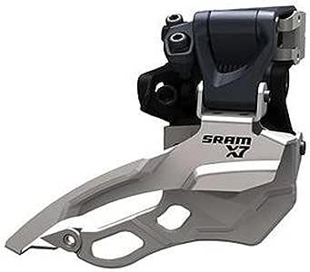 SRAM X7 Front Derailleur 3X10 Hi Clamp 31.8//34.9 Compact Top Pull