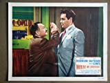 ER09 House Of Strangers EDWARD G. ROBINSON Lobby Card. This is an original lobby card; not a dvd or video. Lobby cards were used to advertise film playing at theater and they measure 11 by 14 inches.