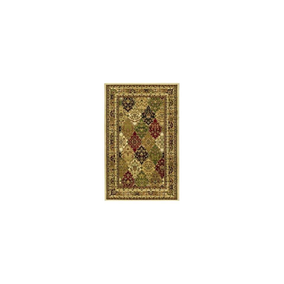 Safavieh Lyndhurst Collection LNH221A Multicolor Area Rug, 3 Feet 3 Inch by 5 Feet 3 Inch