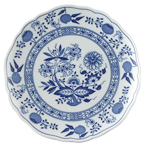 Hutschenreuther Blue Onion Motif Breakfast Plate, Cake Plate, Porcelain, 20 cm, 10220