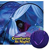 Pop up Bed Tents for Kids, Magic Play Tent Space Gifts Private Funny Nursery Bedroom