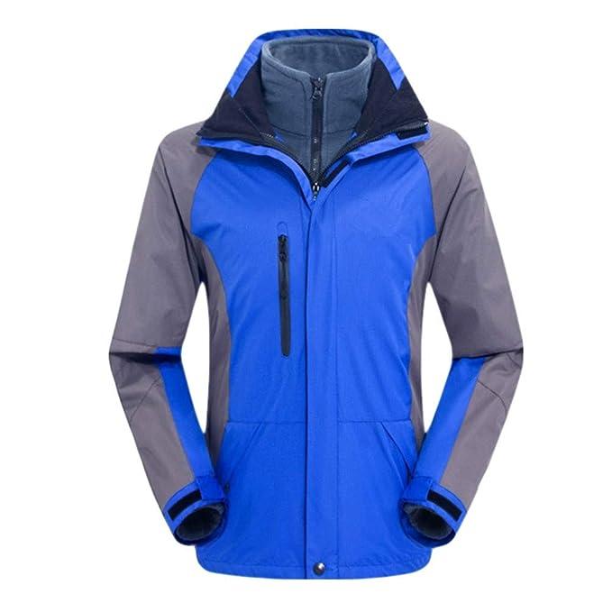 Lixada MEN/'S Giacca Invernale Antivento Giacca in Pile Cappotto Da Sci Impermeabile per ou.