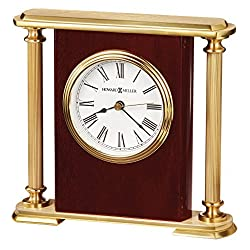 Howard Miller 645-104 Rosewood Encore Bracket Table Clock by