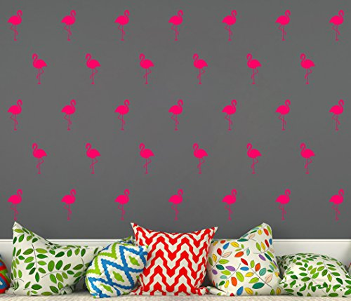 Flamingo Wall Decal/Home Decor/Office Decor/Nursery Wall Decor Removable Vinyl Wall Stickers For Kids(A10) (Blush)