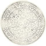 Safavieh Adirondack Collection ADR109C Ivory and Silver Oriental Vintage...