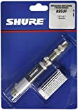 Shure A95UF Transformer; Low Z, Female XLR to High Z MC1M Connector with Mating 1/4-Inch Phone Plug/Jack