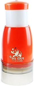 Keikei Korean Food Chopper, Food Processor for Vegetable, Baby Food , Salad-ORANGE