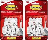 Command 3M Small Kitchen Hooks, White, Decorate