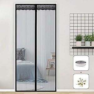 RSIOSL Zanzariera Magnetica per Finestre, Zanzariere per Finestre Ultra Silenzioso Chiudi Automaticamente per Casa… 3 spesavip