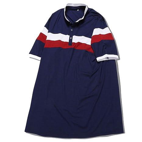 NDHSH Camiseta de Manga Corta para Hombre Tallas Grandes Camisetas ...
