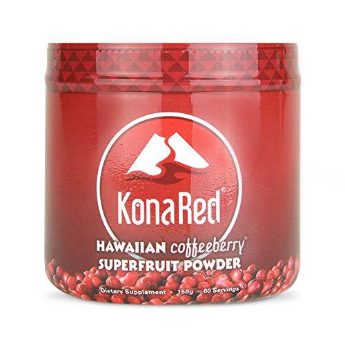 KonaRed - Hawaiian Coffeeberry Superfruit Powder (60 Servings)