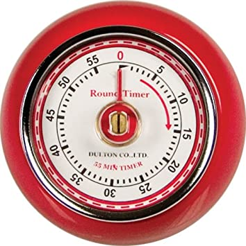 Amazoncom Fox Run Retro Kitchen Timer with Magnet Red Red
