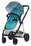 Dream On Me Mia Moda Marisa Three-in-One Stroller, Aqua