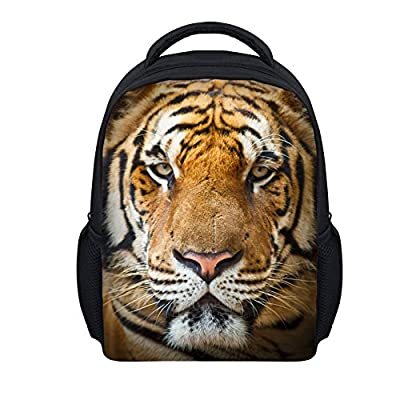 CHAQLIN Horse Pattern Fashion School Bags Kids Shoulder Backpack
