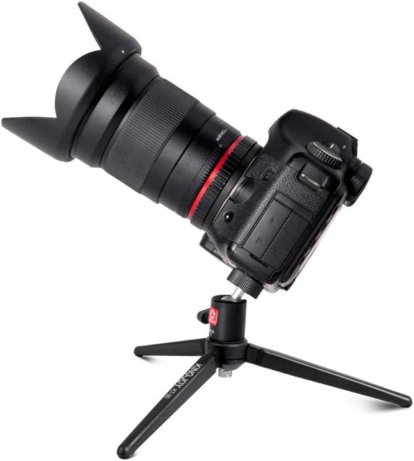 XUEME Travel Camera Tripod Phone Bracket Stabilizer Metal Portable Mini Tripod for Digital SLR Cameras