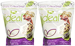 Ideal No Calorie Sweetener 10.6 Ounce Baking Bag 2 Pack
