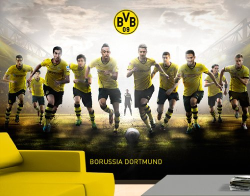 Wtd  Photographic Wallpaper No  Bvb Mit Vollgas Zum Sieg With Full Speed To Victory  Cm German Language Amazon Ca Home Kitchen