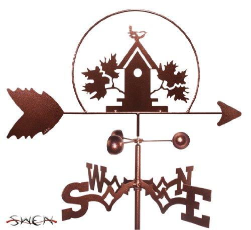 Swen Hand Made BIRDHOUSE BIRD HOUSE FLAT POST Mount Weath...