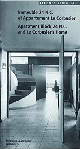 Book Apartment Block 24 N.C. and Le Corbusier's Home (Corbusier Guides) (Le Corbusier Guides)