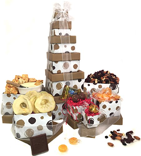Gift Basket Box Tower | Thank You for Men and Women